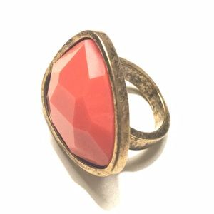Jewelry - Fashion Ring Bronze Stone Gold 5.5